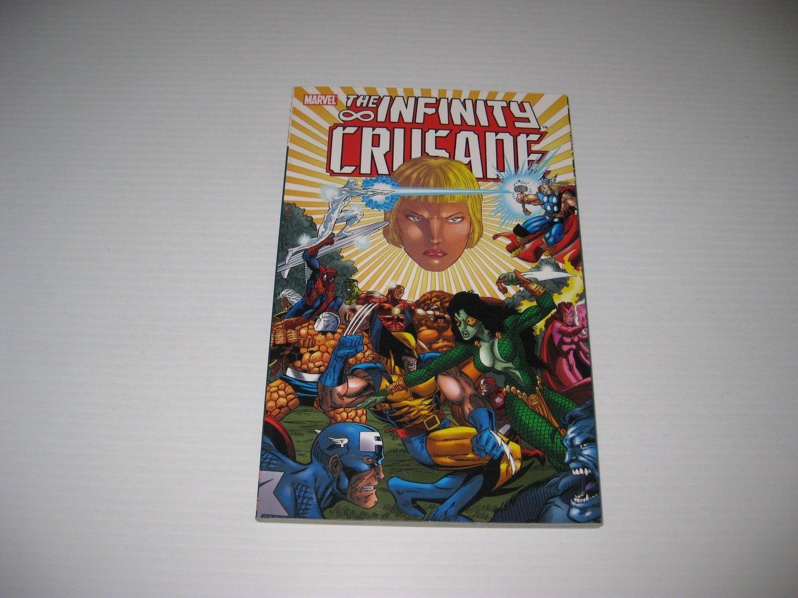 #Popular - INFINITY CRUSADE Vol 2 Marvel Comics TPB Graphic Novel Thanos Gauntlet Avengers http://ift.tt/2pgEY1J https://t.co/ZV7WQc1SDv