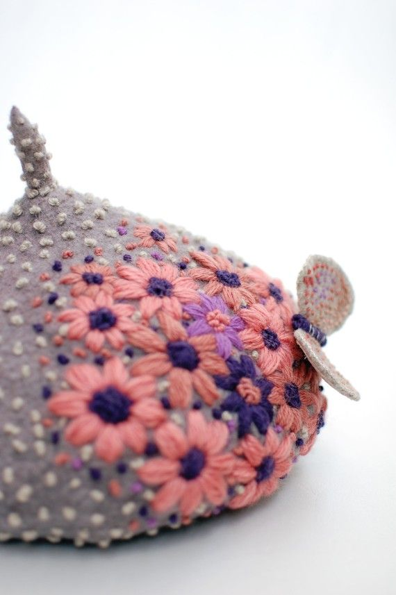 awesome hat on Etsy by a Japanese artist