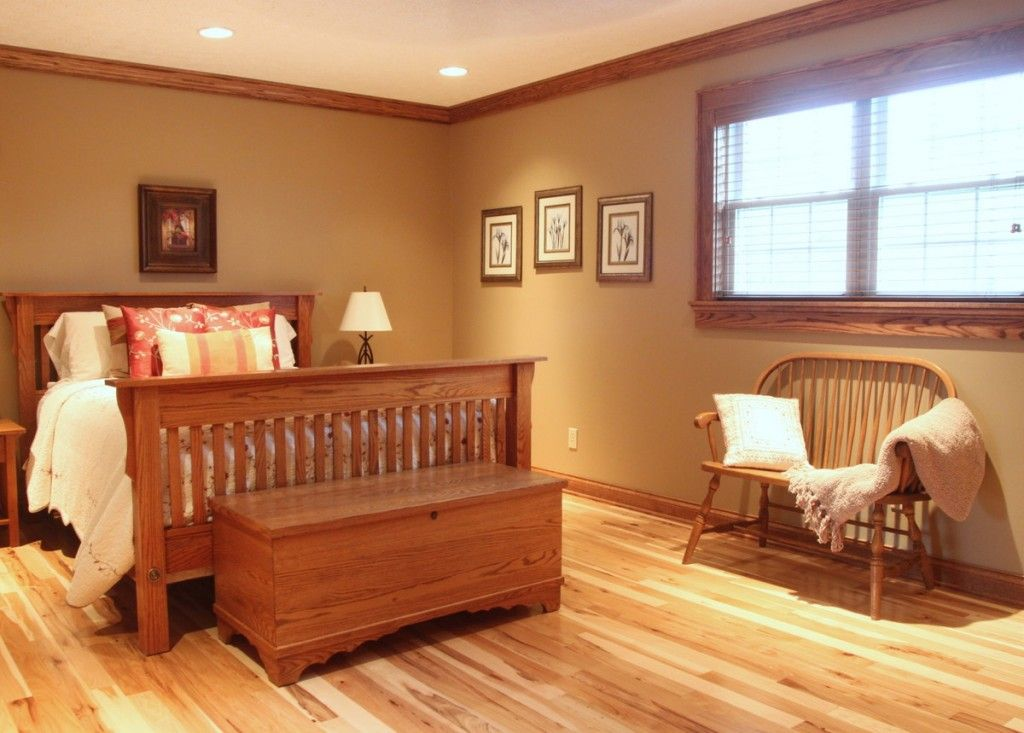 Image Result For Hickory Flooring With Oak Trim Interior