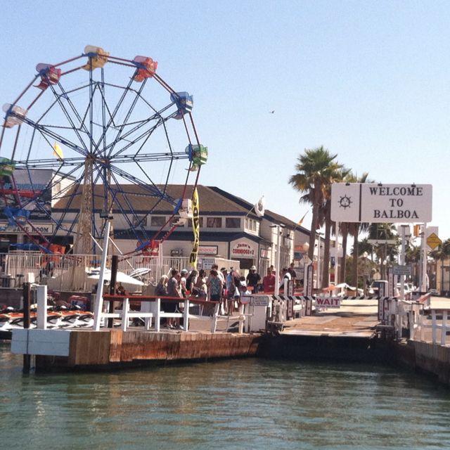 Places To Visit Huntington Beach Ca: Balboa Island, Newport Beach, CA