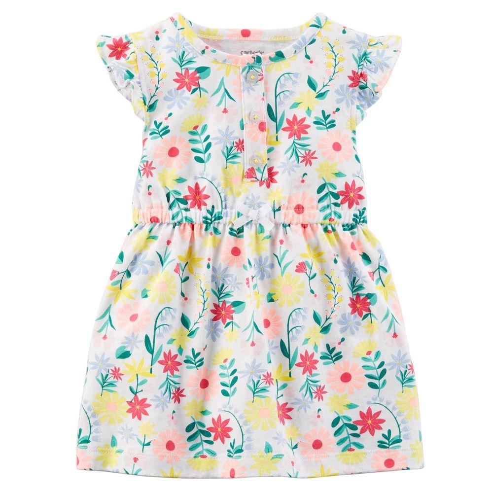 34326db6d5de Baby Girl Carter s Floral Print Dress