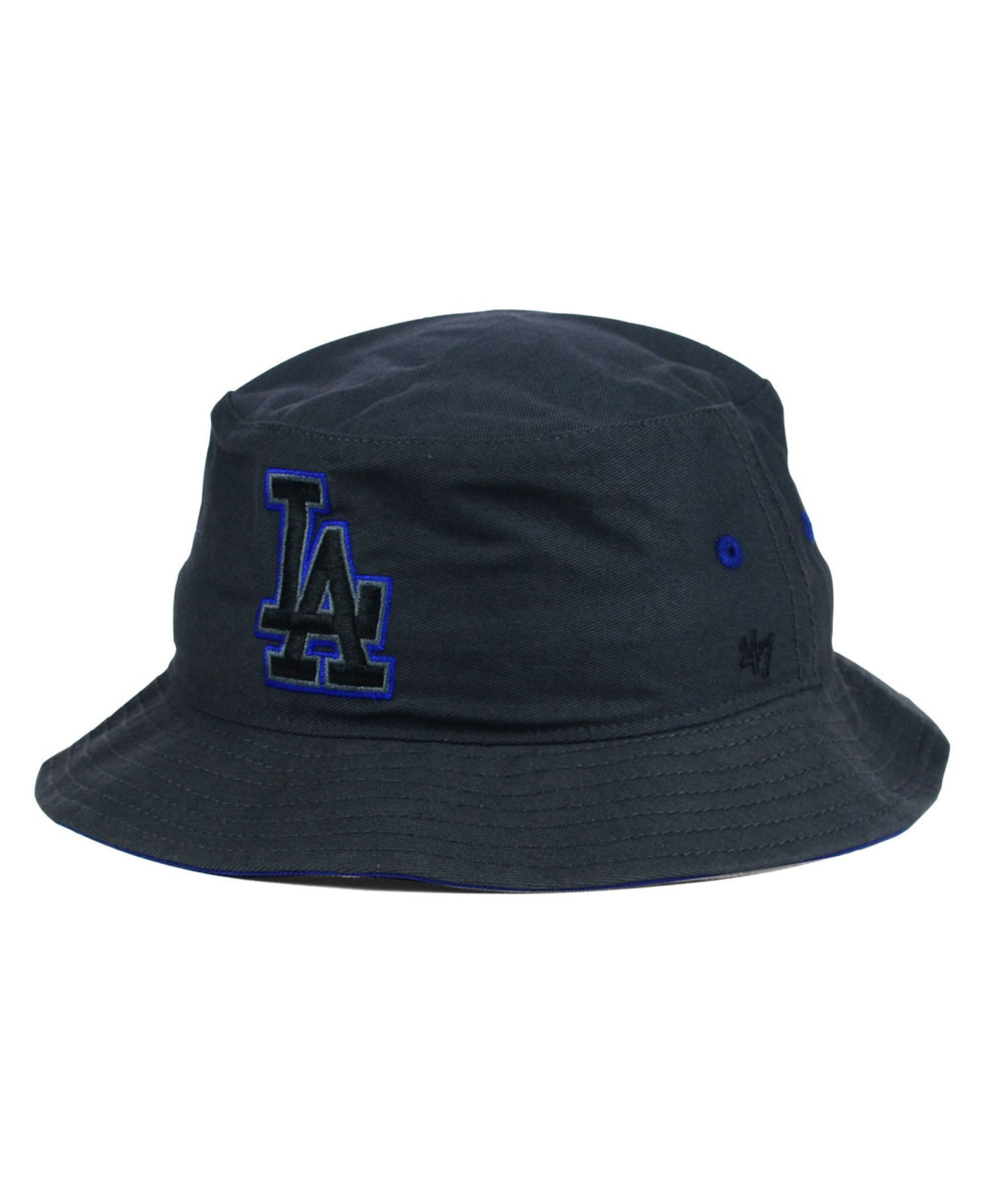 the latest 53747 c170a ... 47 brand los angeles dodgers turbo bucket hat ...