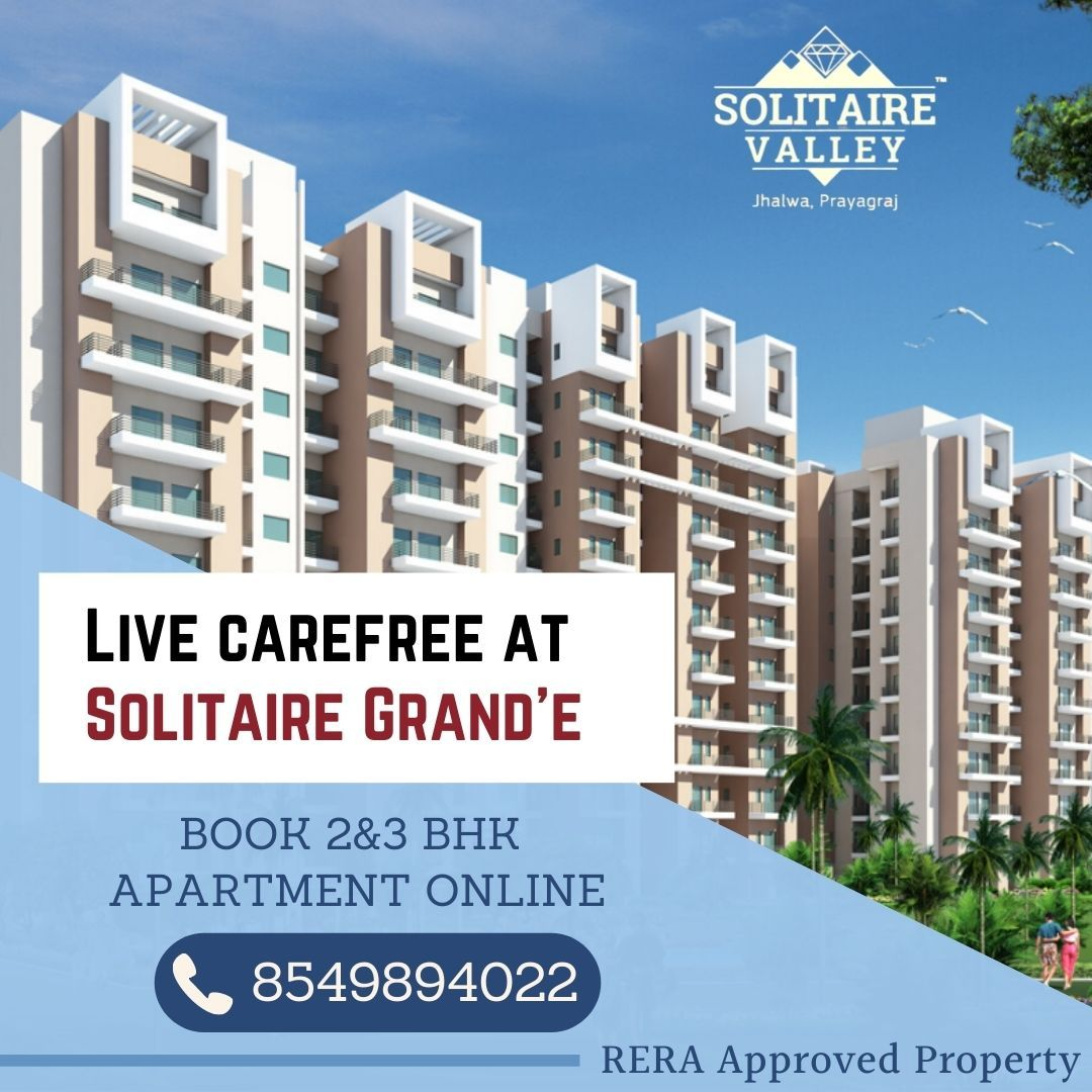 Rera Approved 2 3 Bhk Flat In Allahabad Valley Solitaire Locations