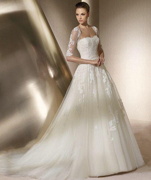 1000  images about Wedding Dresses on Pinterest - Girl model ...