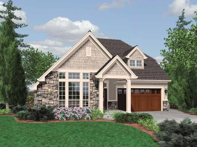 Traditional Style House Plan 3 Beds 2 5 Baths 1761 Sq Ft Plan 48 568 Small Cottage House Plans Affordable House Plans Cottage Plan