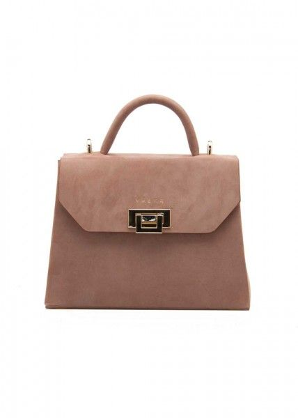 VENLA BROWN MINI BAG by vaska $416