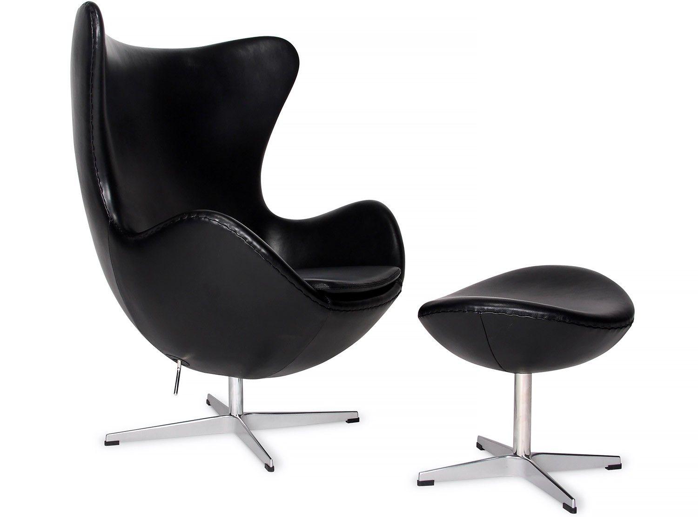 Mini Ei Sessel Breite Leder Stuhl Arne Jacobsen Sofa 3300 Fritz