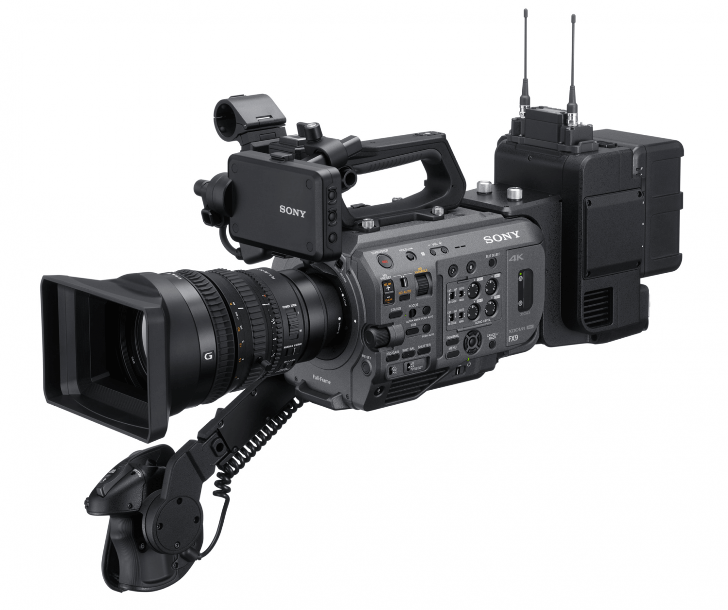 The Sony Fx9 Is Here And It Does Something No Pro Video Camera Has Done Before In 2020 Video Camera Camera Wireless Streaming