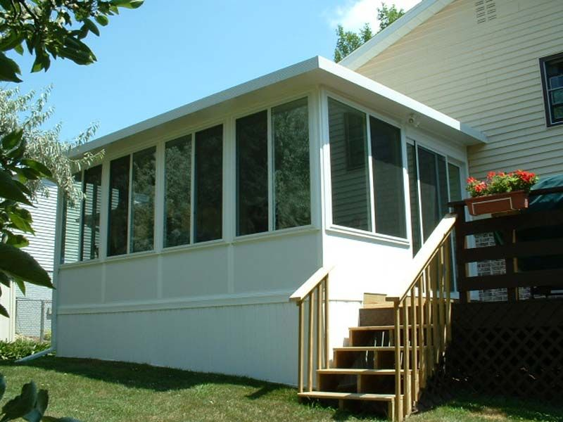 Beautiful Mobile Home Sunroom Additions