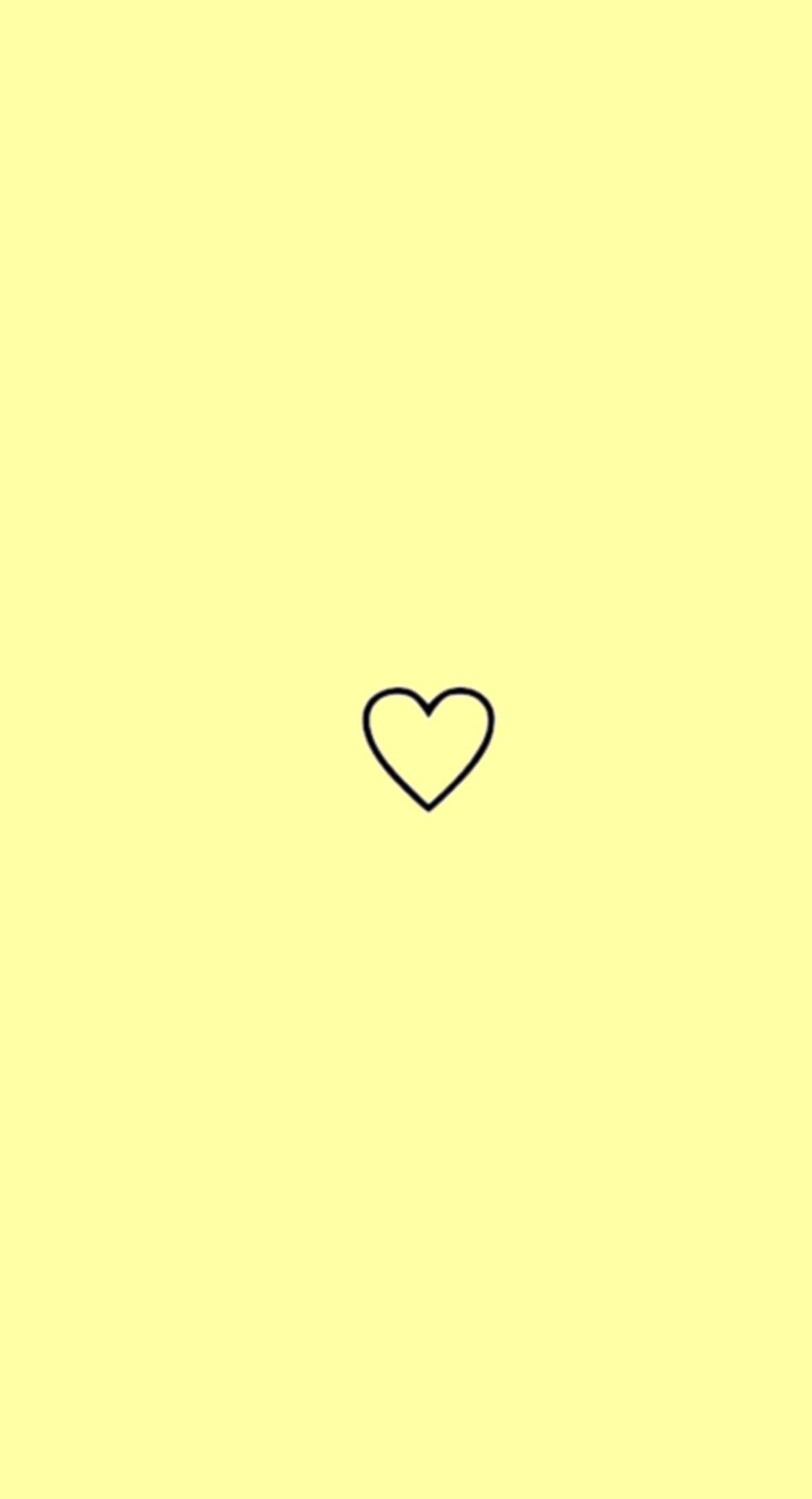 Yellow Aesthetic Heart Yellow Aesthetic Beautiful Aesthetic