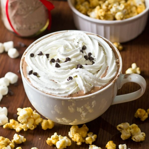Make up a big batch of this super creamy hot chocolate mix so you'll be prepared for the winter!