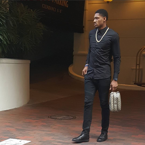 NBA Style: Bradley Beal In Balmain Tretch Cotton Fustian Jeans And ...