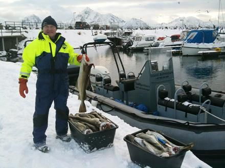 My man from Vesterålen RIB Safari with supper. #ScanAdventures
