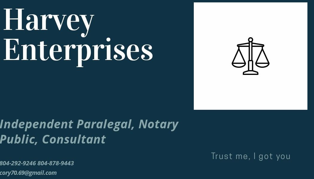 Pin By Harvey Business Builders On Harvey Legal Solutions L Got You Notary Public Harvey