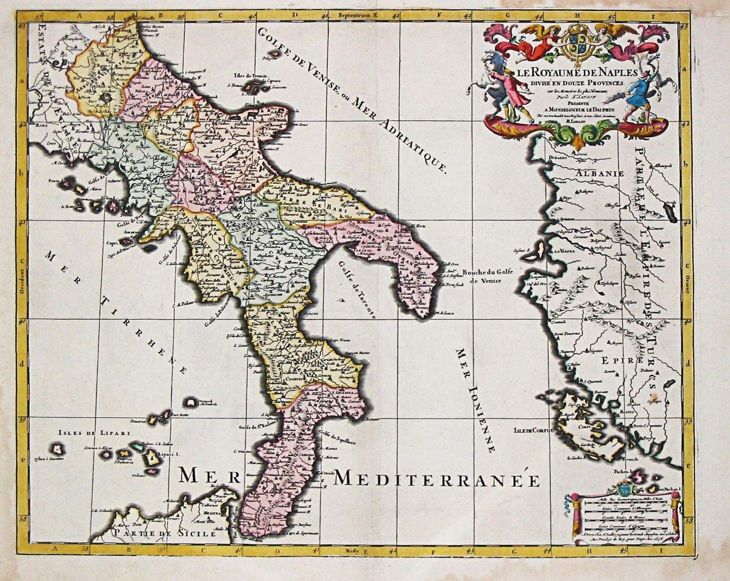 Mappa Napoli Puglia.Le Fasi Del Regno Di Napoli Mappa Mappa Antica Rivoluzione Francese