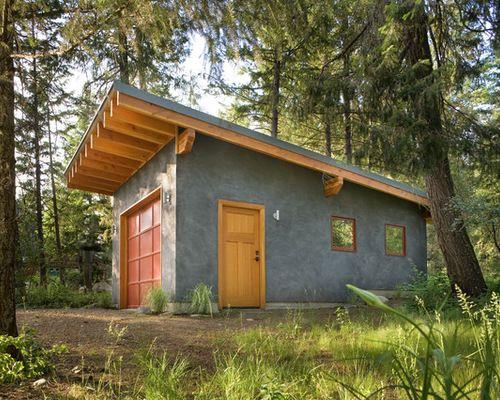 Garages With Sloped Roofs Shed Roof Design Garage Design Roof Design