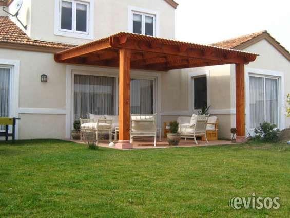 Cobertizos, Terrazas- Instalación de 1 a 2 días COBERTIZOS, TERRAZAS - terrazas en madera