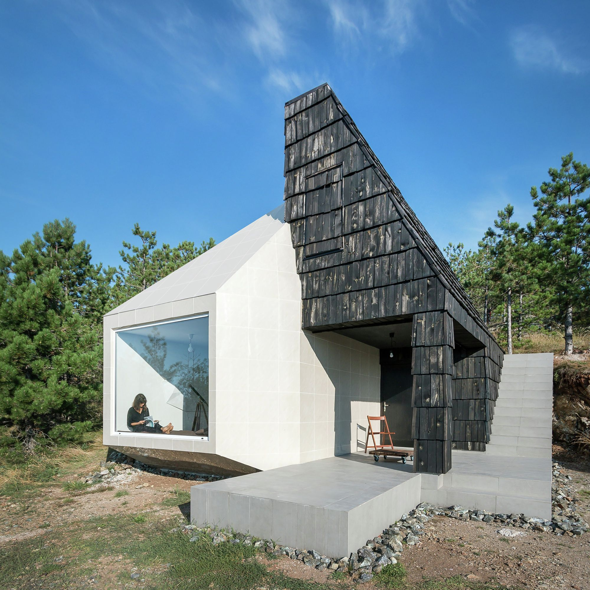 completed in 2015 in divibare serbia images by relja ivani the house is - Contemporary Small Houses