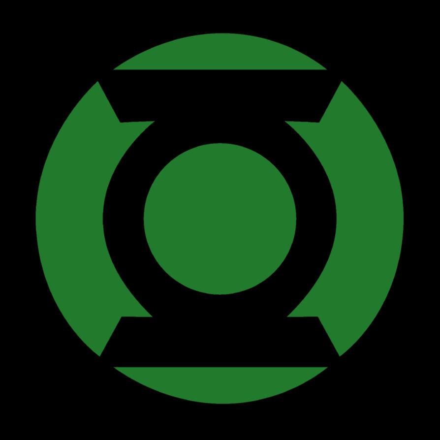 Green Lantern Corps Symbol fill by mr-droy