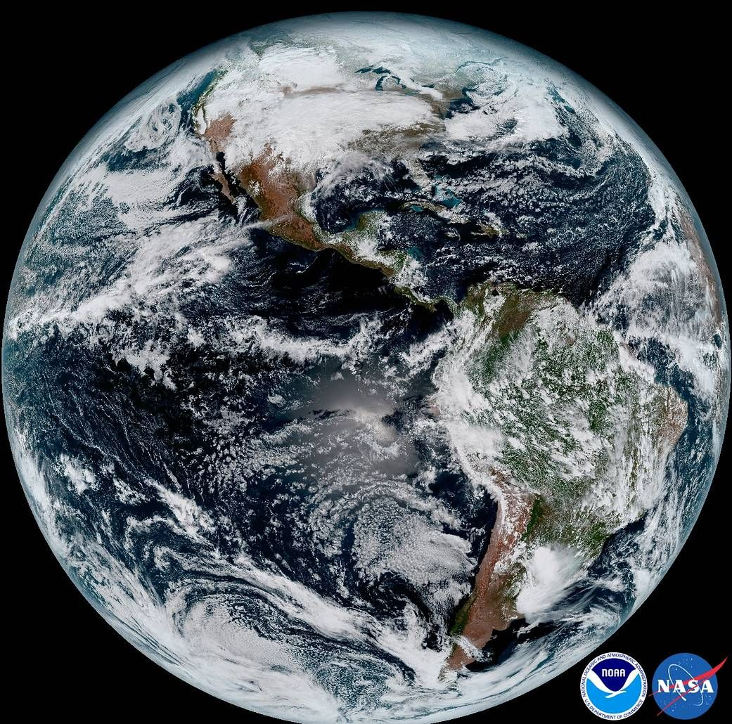 How Long Until The Moon Slows The Earth To A Hour Day Earth - Latest satellite view