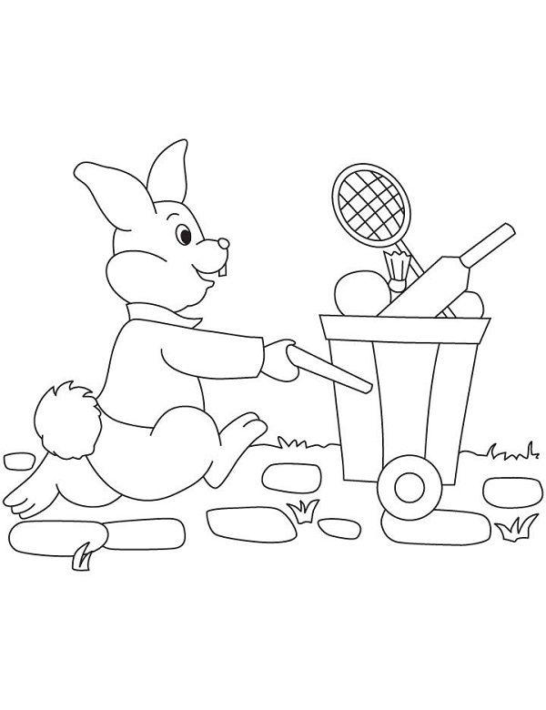 Peter Rabbit Coloring Pages Nick Jr