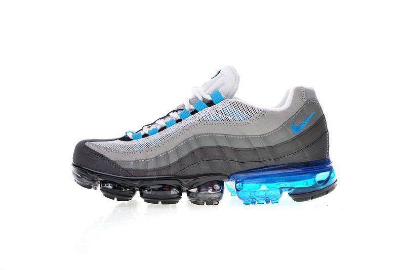 ad94bfc8e8e7ff Official Nike Air Max 95 Vapormax Freshwater Aj4970 004 609048 135 White  Grey Blue Shoe