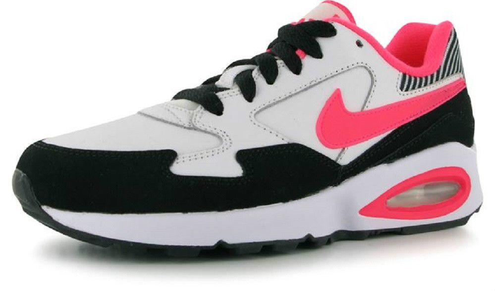 4a4ebaeb4c Nike Air Max Trax ST Older Girls Womens Trainers Pink White UK size 5 EU 38  NEW