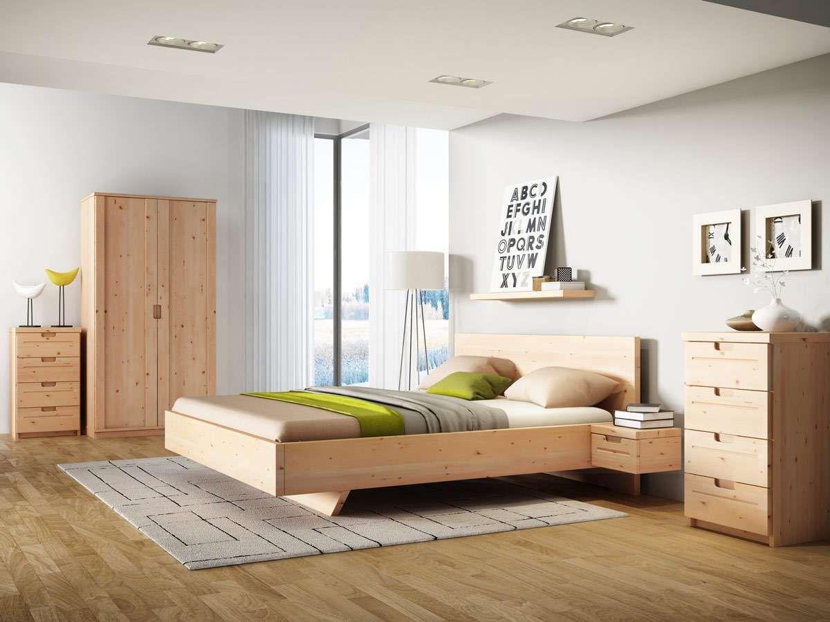 "Zirbenbett ""Lukas"" Haus deko, Diy möbel schlafzimmer, Bett"