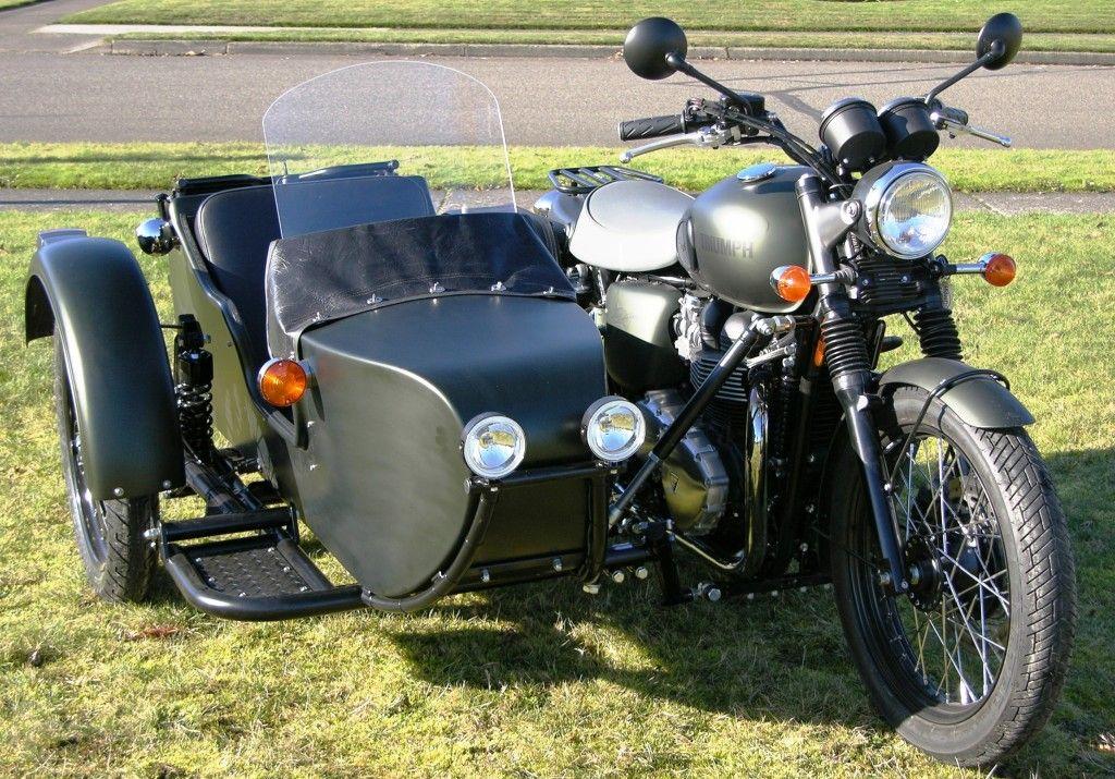 Scrambler Sidecar Sidecar Motorcycle Trike