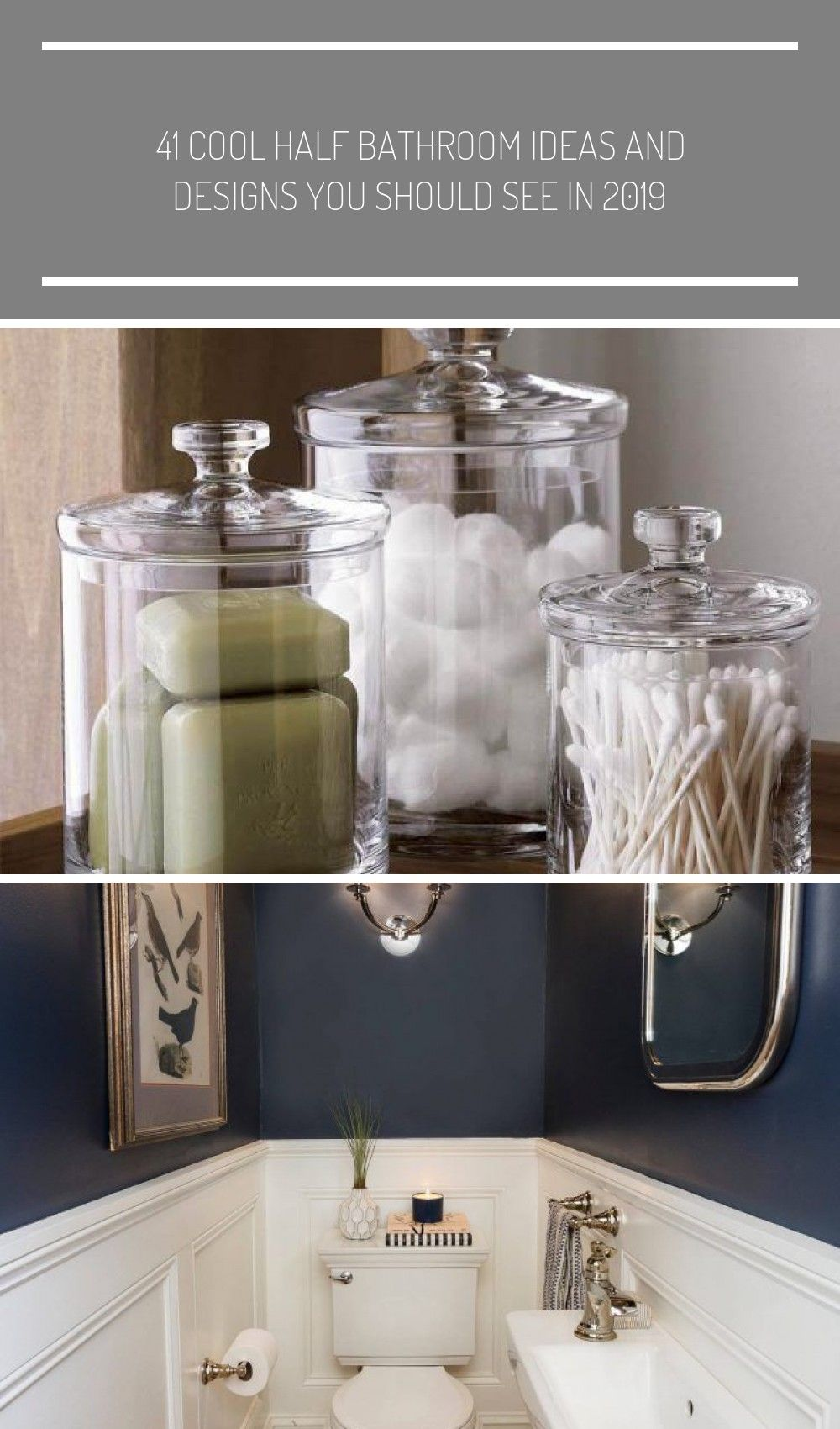 For All the Little Knick-Knacks #small Bathroom decor guest