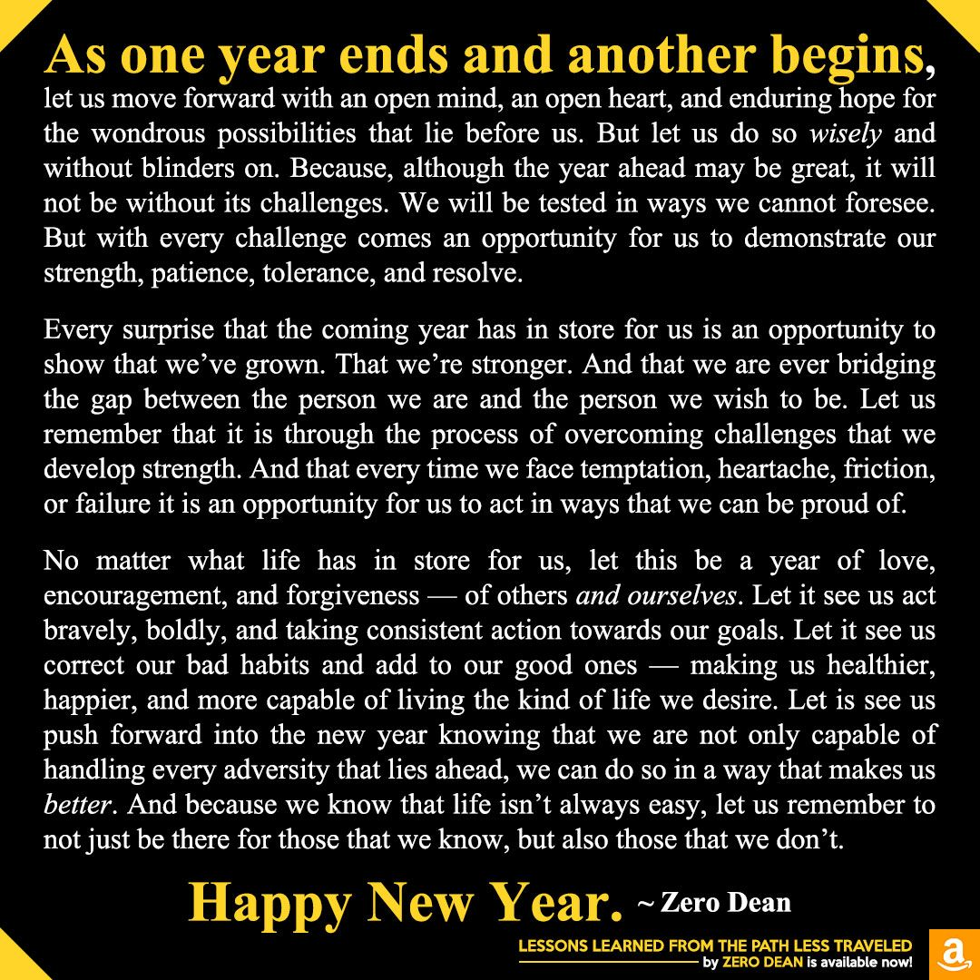 As one year ends and another begins new year wishes