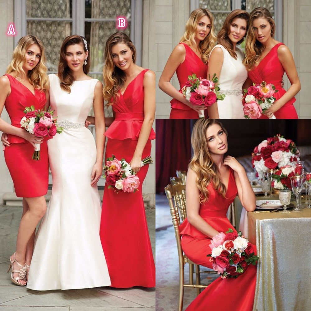 Bridesmaid dresses free shipping sexy a or b mermaid red bridesmaid dresses free shipping sexy a or b mermaid red bridesmaid dresses v neck vestido ombrellifo Image collections
