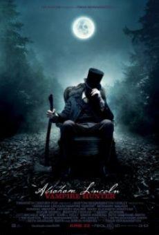 Abraham Lincoln Cazador De Vampiros Pelicula Completa 2012 Fulltv Cazador De Vampiros Peliculas De Terror Poster De Peliculas