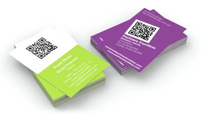 qr code business card - Αναζήτηση Google | Branding, Business ...