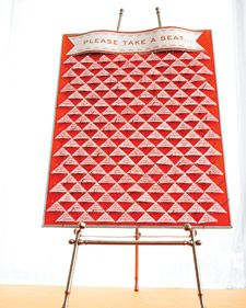 Triangles Seating Chart Board Creative Seating Cards Diy Seating Cards Wedding Seating Cards