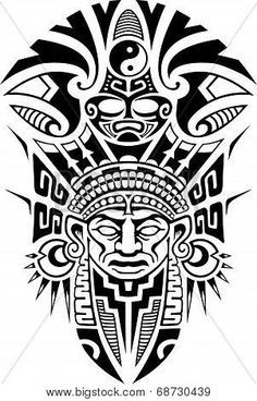 Imagenes Para Serigrafia Gratis Google Search Inka Tattoo Azteken Tattoo Polynesisches Tattoo