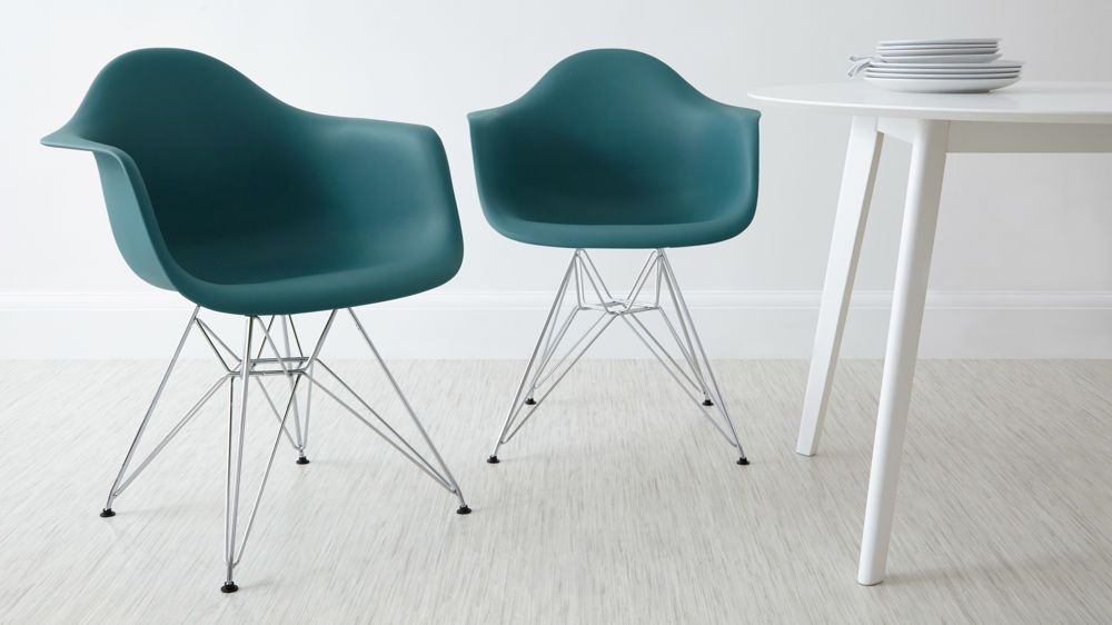 Teal wired based eames dining arm chairs table and chairs eames dining armchair wire frame base uk delivery greentooth Gallery