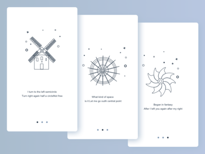 Windmill guide page design