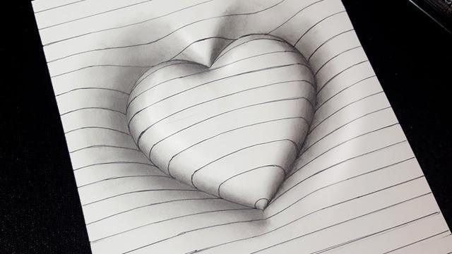 3d Hand Zeichnen Optische Tauschung Bilderanleitung Link