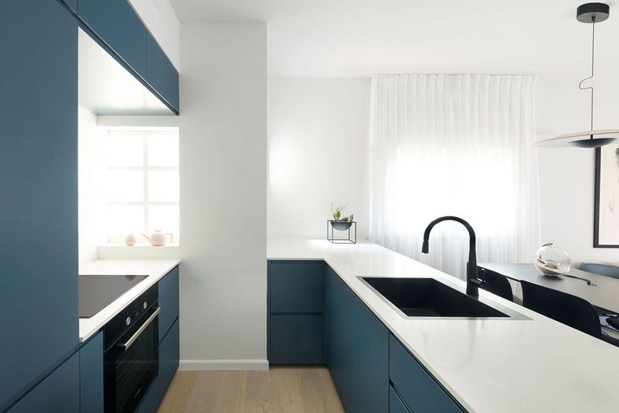 Arredamento Cucina Classico Moderno.Cucina Blu 25 Idee Di Arredo In Stile Moderno E Classico