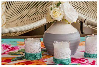 Como Decorar Velas Con Servilletas Paso A Paso Solountipcom - Decorar-velas-con-servilletas