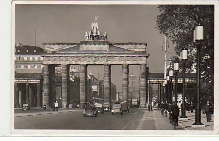 Berlin Mitte Brandenburger Tor 1941 Berlin Brandenburger Tor