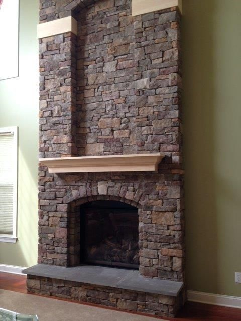 Mendota Full View Gas Fireplace by Rettinger Fireplace