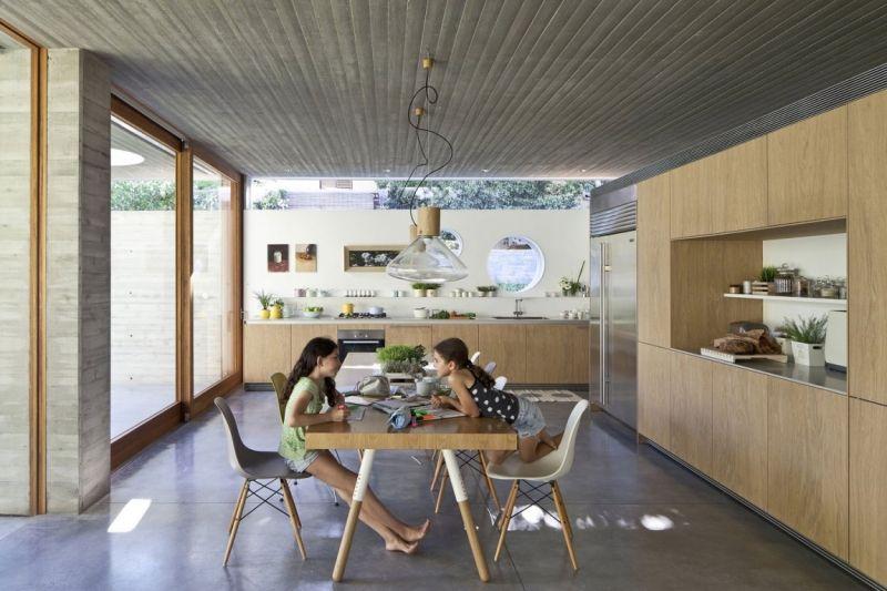 Architektenhaus Innen sichtbeton innen für boden und decke ein architektenhaus in
