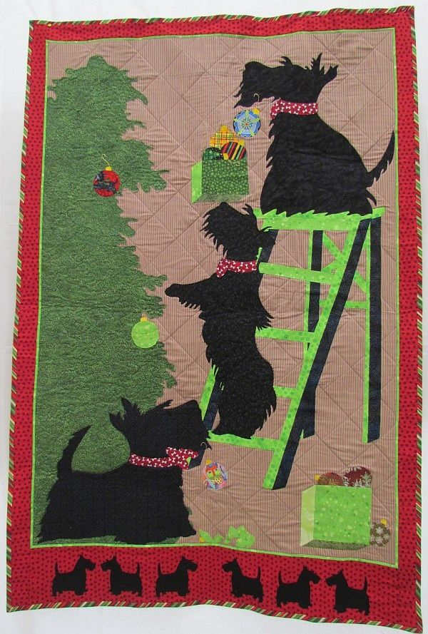Beautiful Scottie Dog quilt -High Expectations | Dog Quilts ... : scottie quilt pattern - Adamdwight.com