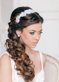 Hochzeitsfrisuren Fur Ein Rundes Gesicht Beauty Hair Make Up