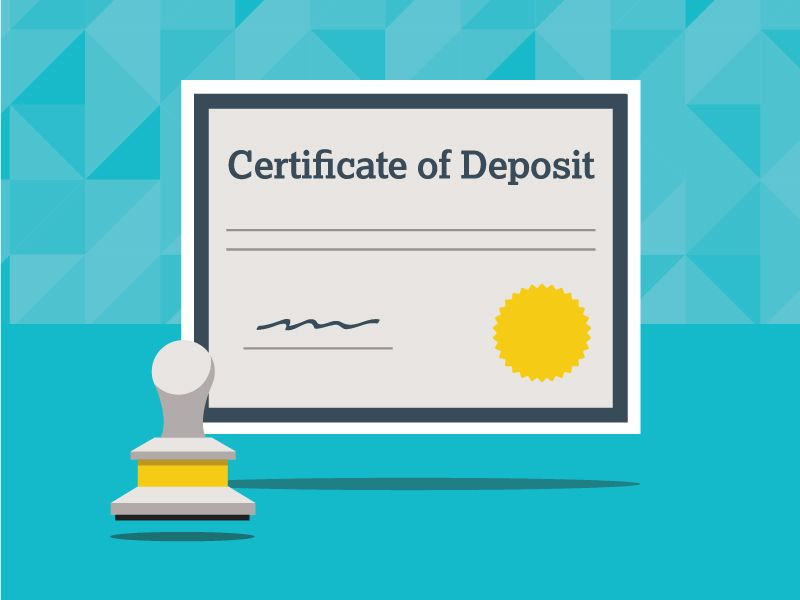 A Certificate of Deposit (CD) is a savings certificate entitling the ...