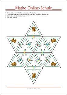 Multiplizieren mit Lernkarten - Mathe Aufgaben für die 2. Klasse ...