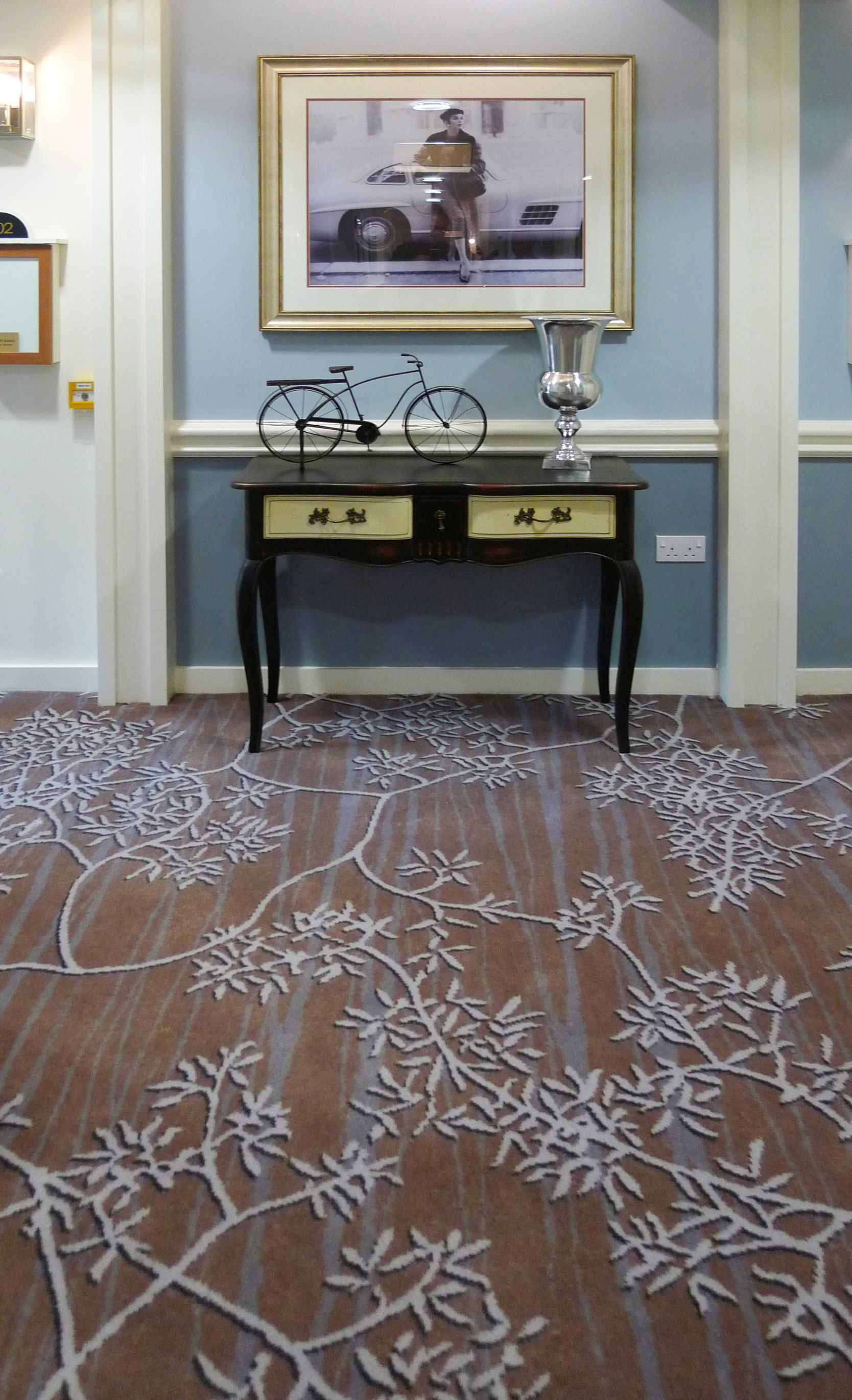 Axminster Carpet Installation In The Beeches Care Home In