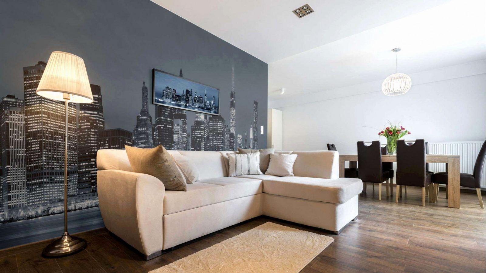 Holz Deko Wand Wohnzimmer von Dekoration Für Die Wand Bild in 3